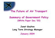 White Paper - Future of Air Transport - London City Airport ...