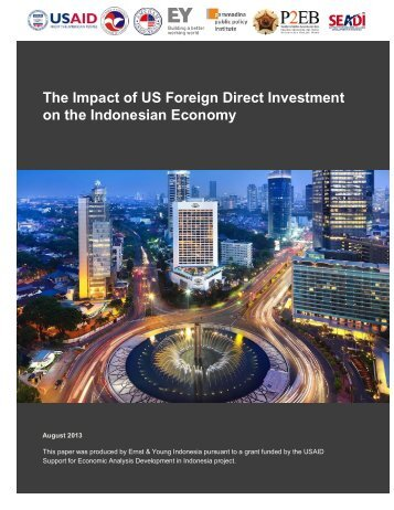 SEADI-13-R191 The Impact of US FDI on the Indonesian Economy