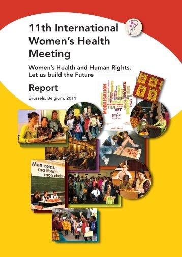 11th International Women's Health Meeting - Le Monde selon les ...