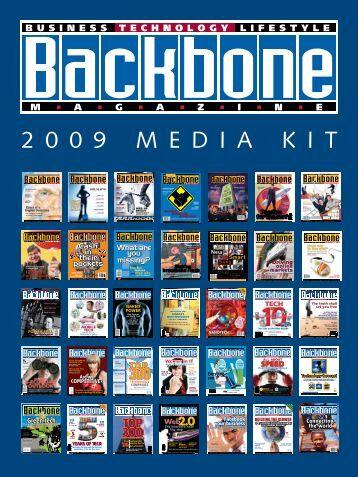 2 0 0 9 M E D I A K I T - Backbonemag.com