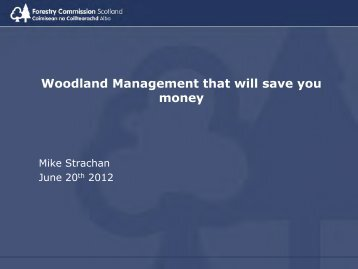Woodland Management that will save you money