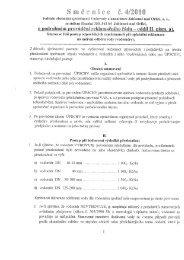 Směrnice č 4-2010-Podrobné provádění reklamačního řádu
