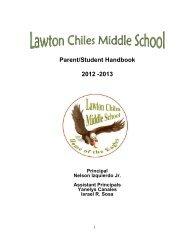 Handbook - Lawton Chiles Middle School - Miami-Dade County ...