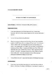 the zahid mubarek inquiry witness statement of gordon