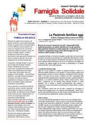 FAMIGLIA SOLIDALE - Caritas Torino