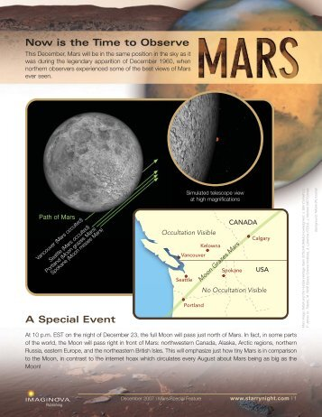 Mars observing guide final working - Starry Night Education