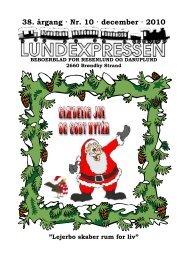 38. årgang · Nr. 10 · december · 2010 - lundens.net