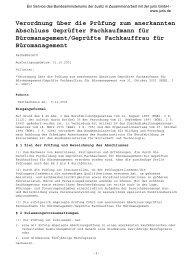 Geprüfte/r Fachkaufman/frau für Büromanagement - VDV-Karriere