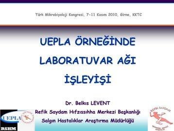 Belkıs Levent - Türk Mikrobiyoloji Cemiyeti