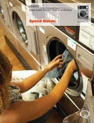 Horizon Front Load Washer - Speed Queen