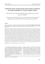 Prediction of the Average Surface Heat Transfer Coefficient for ...