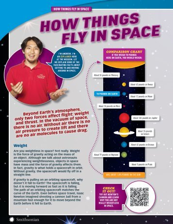 How Things Fly in Space (PDF) - Smithsonian Education
