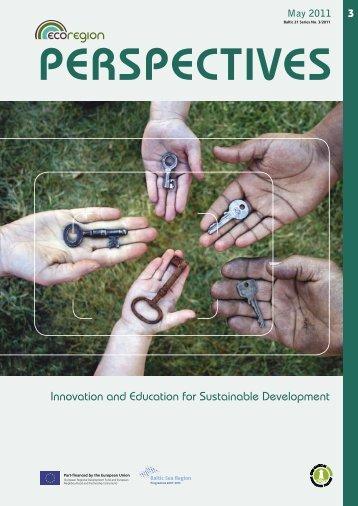 Innovation and Education for Sustainable Development - EcoRegion