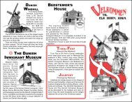 TO SEE THE VISITORS MAP of Elk Horn, Iowa - The Danish Windmill