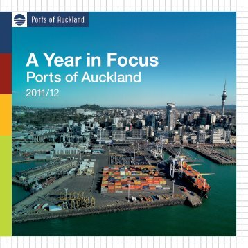 download our 2012 Facts and Figures booklet - Ports of Auckland