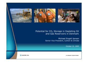 Potential for CO Storage in Depleting Oil and Gas Reservoirs ... - Zero