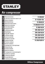 Air compressor - Lomax
