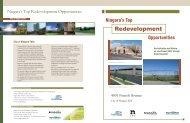 Top Development Properties - Niagara Falls, Ontario, Canada