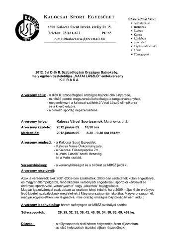 diak2szfobkiiras2012kalocsa - Magyar Birkózó Szövetség