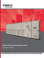 TMdrive-XL85 Product Application Guide - Tmeic.com
