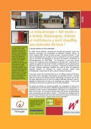 à Ambly - Fondation rurale de Wallonie