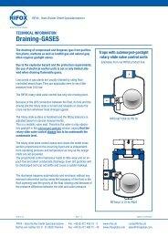 Draining-GASES - Rifox-Hans Richter GmbH