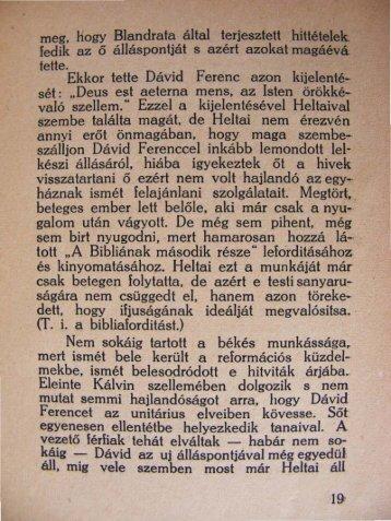 2 / 19-27. oldal - Unitárius tudás-tár