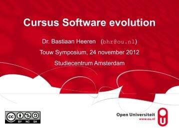Software evolution (1)