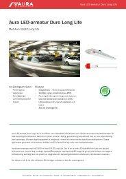 Aura LED-armatur Duro Long Life - Aura Light