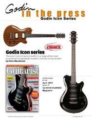 Guitarist - Godin Guitars