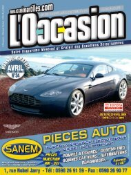 L'Occasion N°34bdef - Occasion Antilles