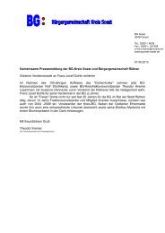 Weiterlesen - Kreis BG Soest