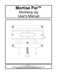 Mortise Pal™ - Popular Woodworking Magazine