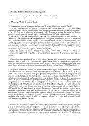 Relazione Altieri - Consiglio di Presidenza della Giustizia Tributaria