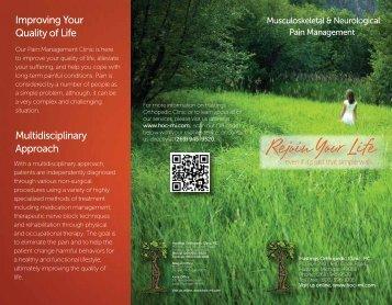 Download our Pain Management Brochure - Pennock Health Services