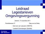 presentatie - Vereniging BWT Nederland
