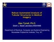 Robust Automated Analysis of Tubular Structures in Medical Imagery