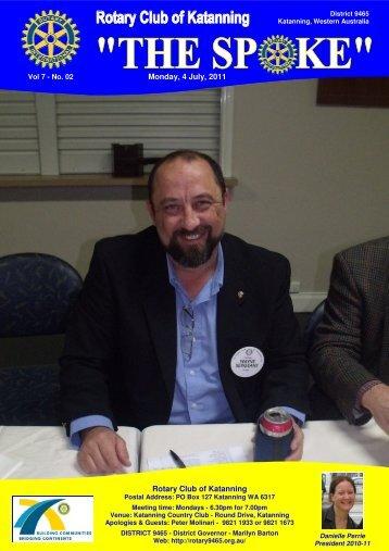 Vol 7-02-July 4 - Katanning Rotary Club