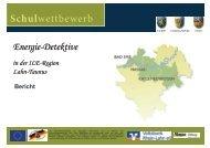 Energie-Detektive Lahn Taunus Schulwettbewerb - ILE | Region ...