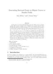 Descending rational points on elliptic curves to smaller fields (with K ...
