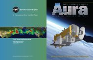Aura Brochure 20-C3 Q 5.0 - Nasa's Earth Observing System