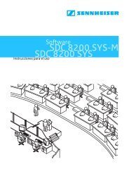SDC 8200 Software - Sennheiser Communications