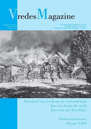 VredesMagazine nummer 1 - VD Amok