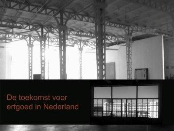 Brabant Stad - presentatie 'Even stilstaan..'.pdf - Netwerk Erfgoed ...