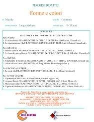 Forme e colori - Istituto Scolastico Comprensivo Lorenzo Lotto, Jesi