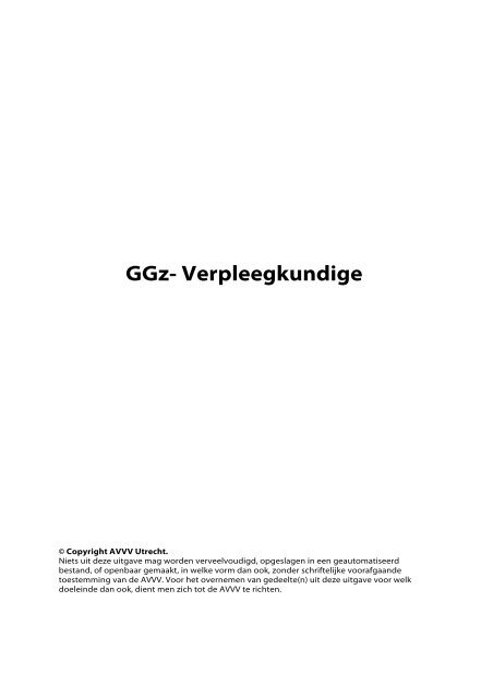 Download het beroepsdeelprofiel GGZ-verpleegkundige