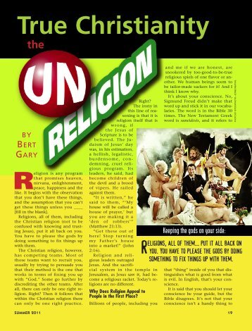 19-22 The Un-Religion:Master Galley - Plain Truth Ministries