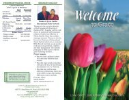 dvd / cd stewardship financial update missionary highlight - Grace ...