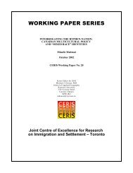 """Canadian Multicultural Policy And """"Mixed Race"""" Identities - CERIS"""
