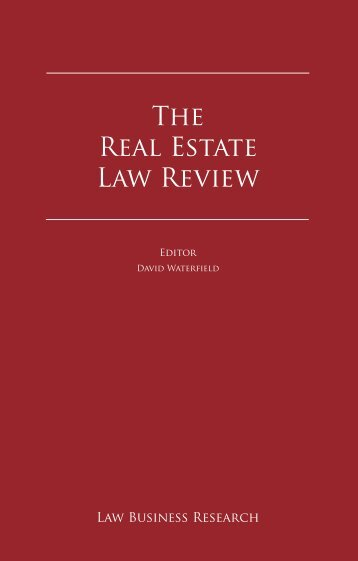 The Real Estate Law Review - Paul, Weiss, Rifkind, Wharton ...